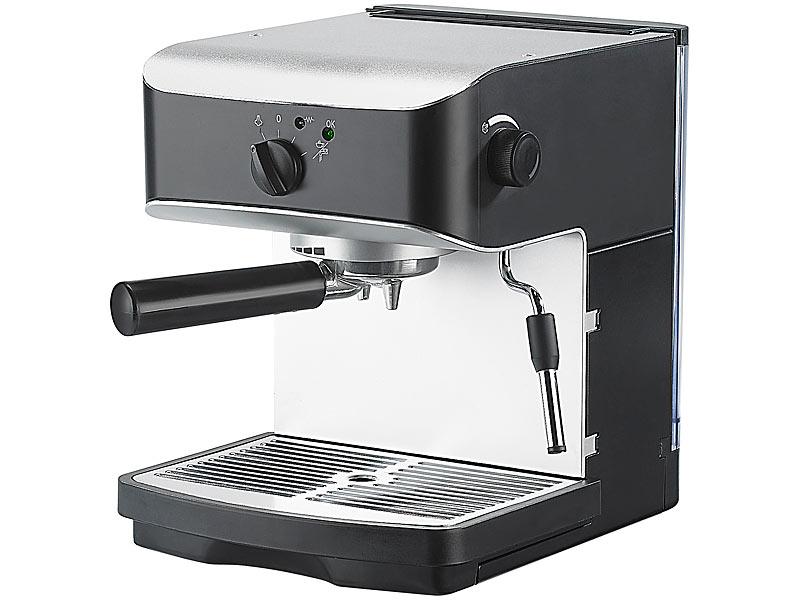 Espressomaschine ohne milchaufschäumer