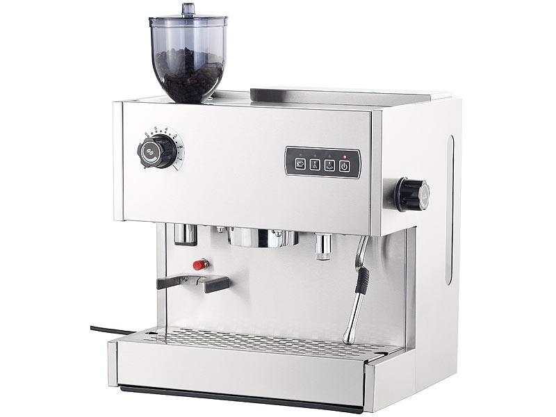 cucina di modena siebtr ger espressomaschine es mit mahlwerk. Black Bedroom Furniture Sets. Home Design Ideas